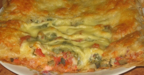 ароматна піца з лаваша