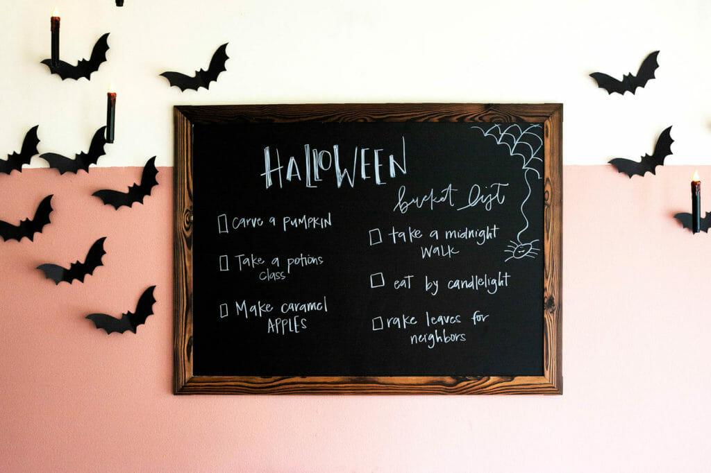 Хэллоуин на доске