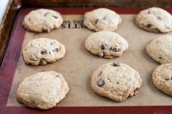 Лучшее шоколадное печенье на силпате.