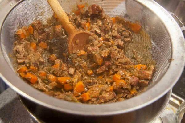 процедите овощи для соуса