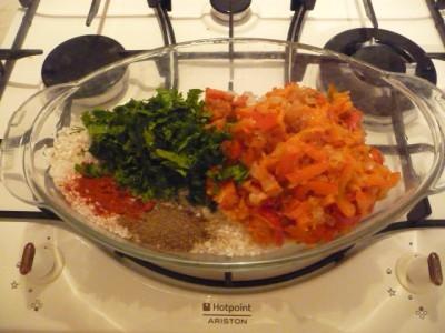 ингредиенты для риса в духовке