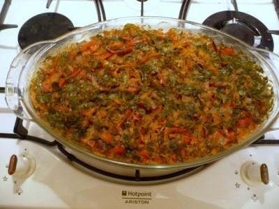аппетитный рис с овощами
